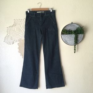 Daughters of the Liberation wide leg button jeans